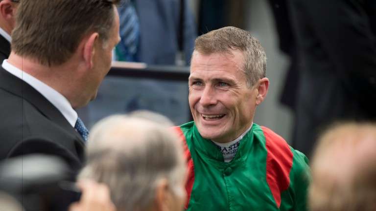 Pat Smullen: the nine-time champion jockey is recovering well