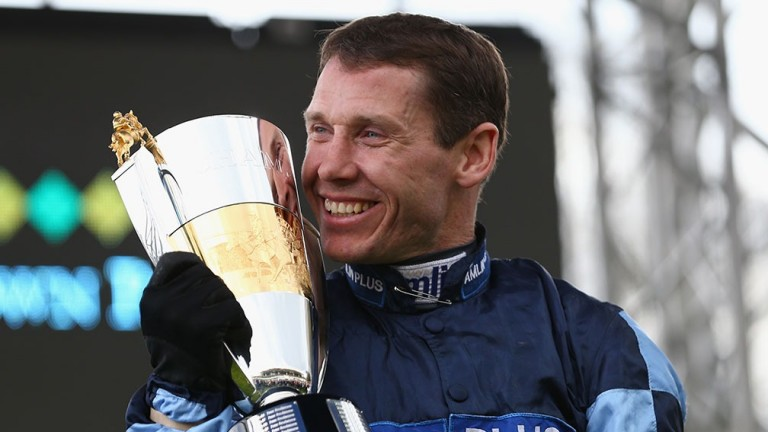 Champion jockey Richard Johnson will be presenting the awards in London on Monday night