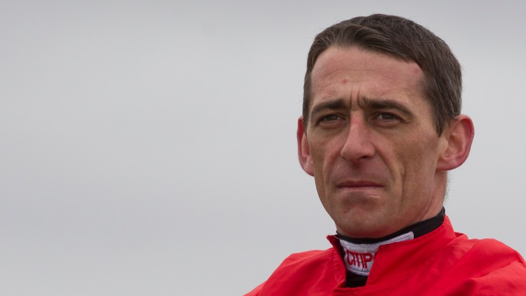 Davy Russell: appeared to strike his mount Kings Dolly in the face at Tramore on Friday