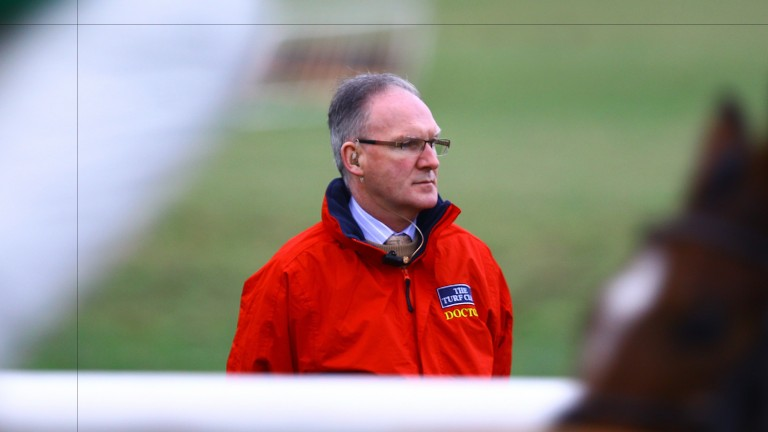 Turf Club Doctor Adrian McGoldrick: reported Shane Prendergast to be making steady progress