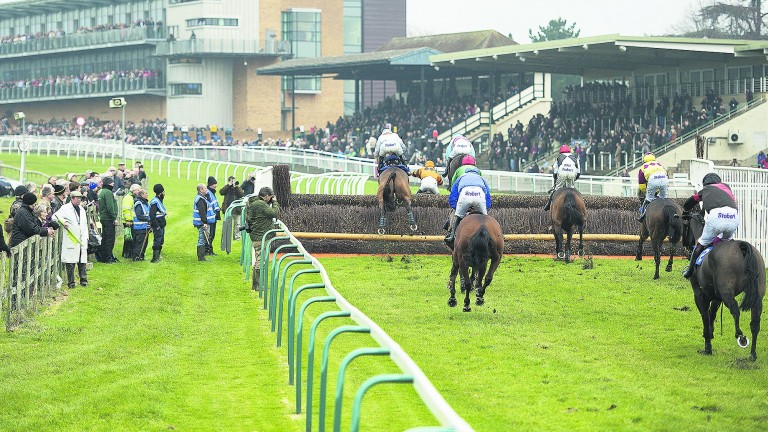 Fontwell: set to race after the rain abated