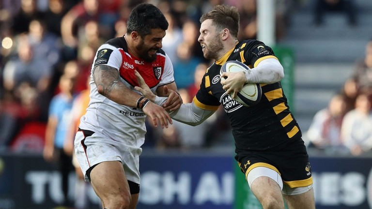 Electric England centre Elliot Daly (right) returns for Wasps after a ban