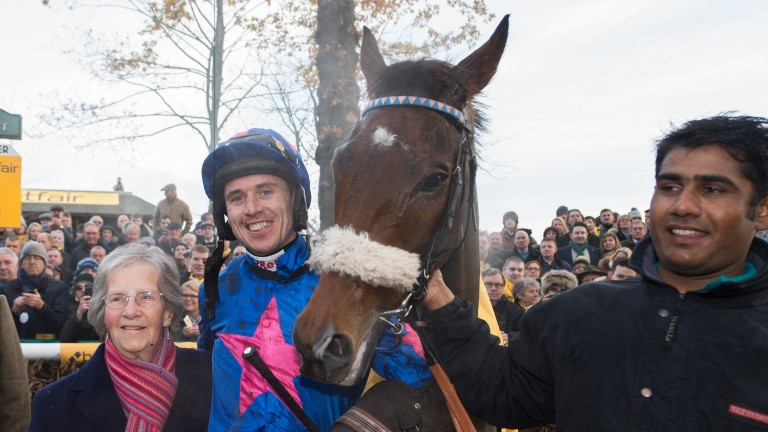 Cue Card: will have Paddy Brennan back aboard on Saturday