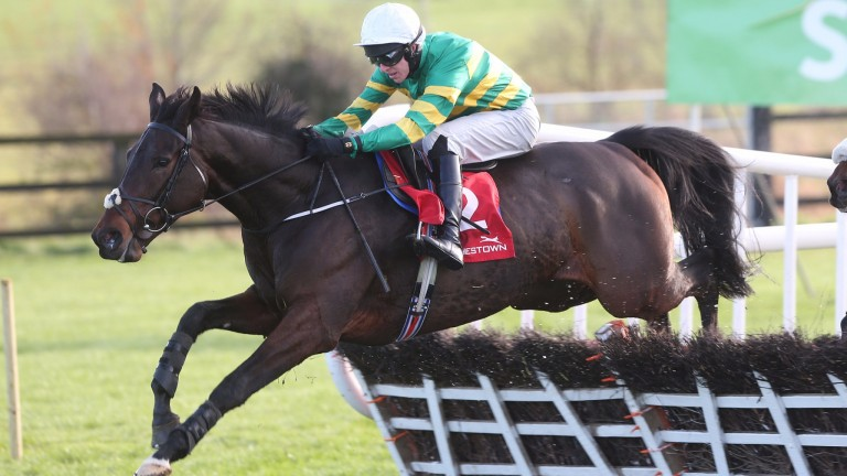 Landofhopeandglory: bids to makes it four from four over hurdles