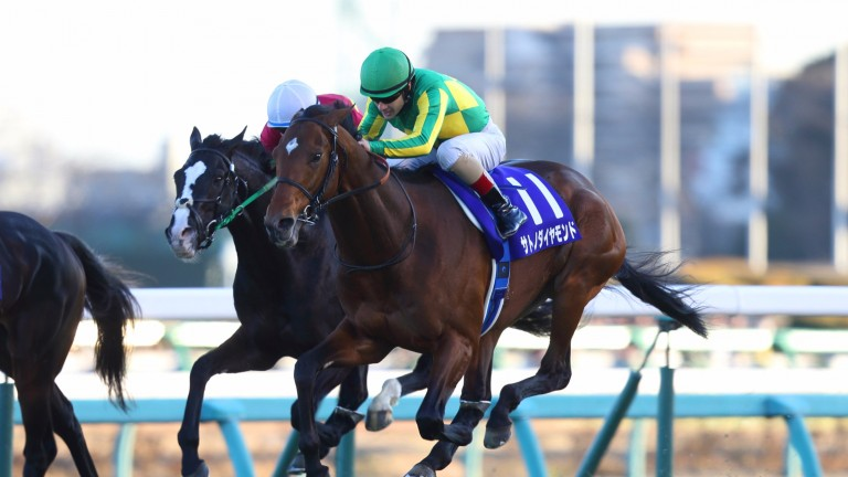 Satono Diamond and Christophe Lemaire stay on strongly to win the Arima Kinen
