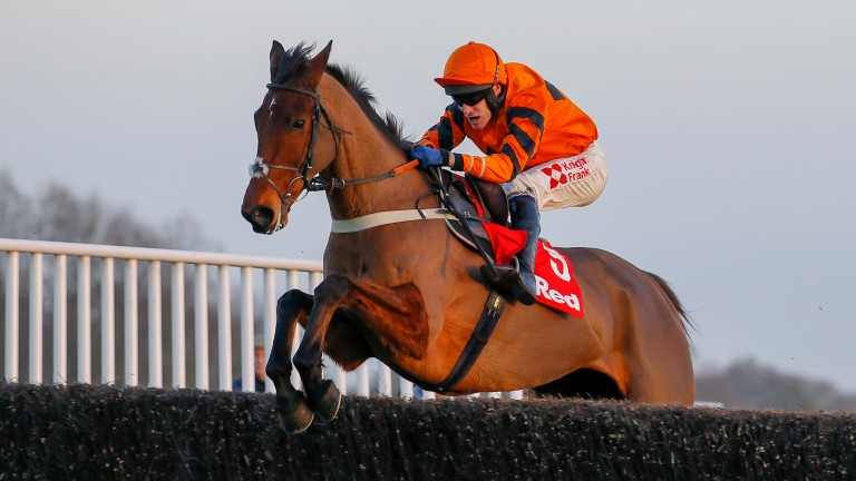 Thistlecrack and Tom Scudamore head for a thrilling  success