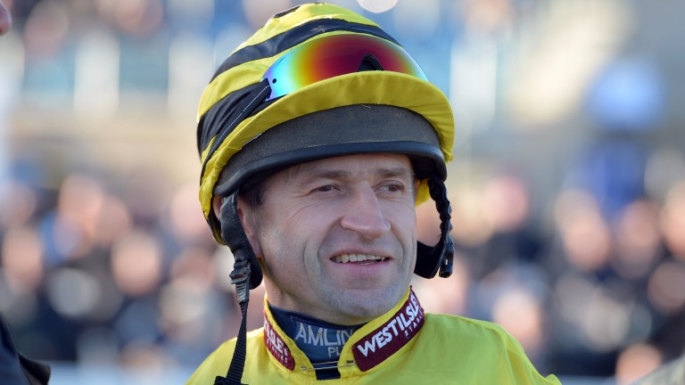 Andrew Thornton - rode his 1,000th winner on Boxing Day