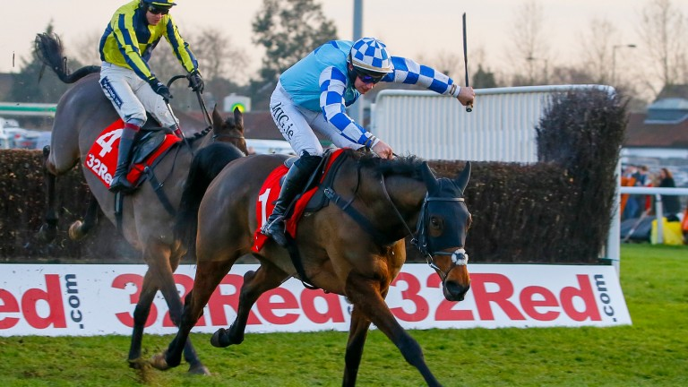 Double Shuffle: bids to repeat his December success over the BetBright Chase course and distance