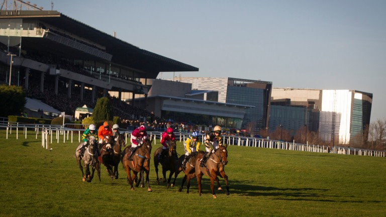 Leopardstown: hosts racing today