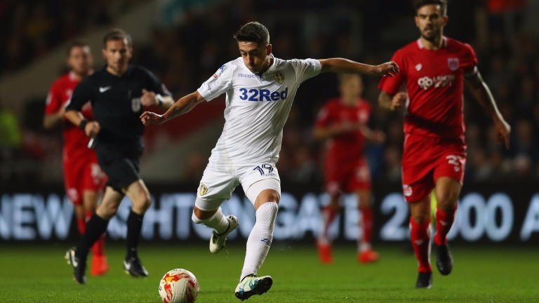 Pablo Hernandez of Leeds may make his first start for seven weeks