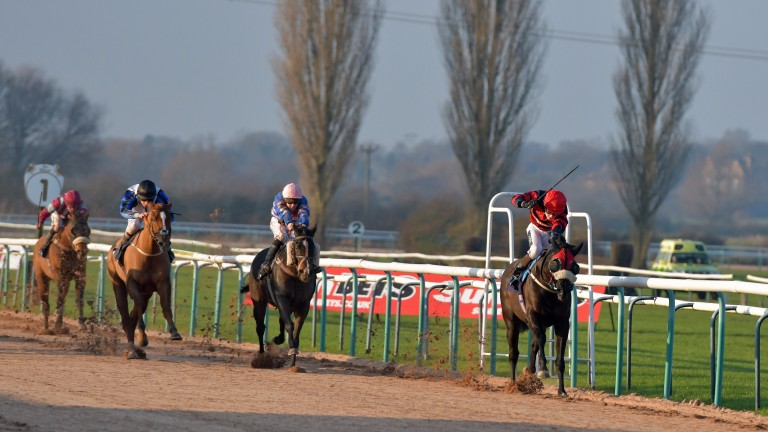 Action from Southwell on Sunday may not be available in all betting shops if media rights deals cannot be completed in time