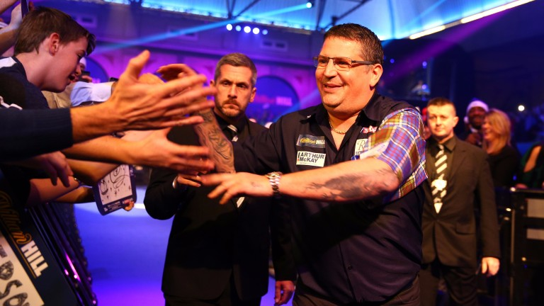 Dave Chisnall could find Gary Anderson (above) a tough opponent to stop