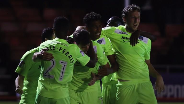 Colchester United could have plenty to celebrate at Stevenage