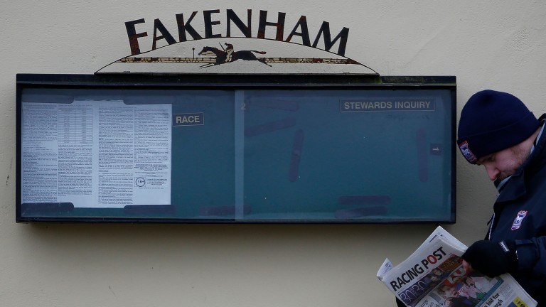 Fakenham's New Year's Day fixture is not expected to be in any doubt