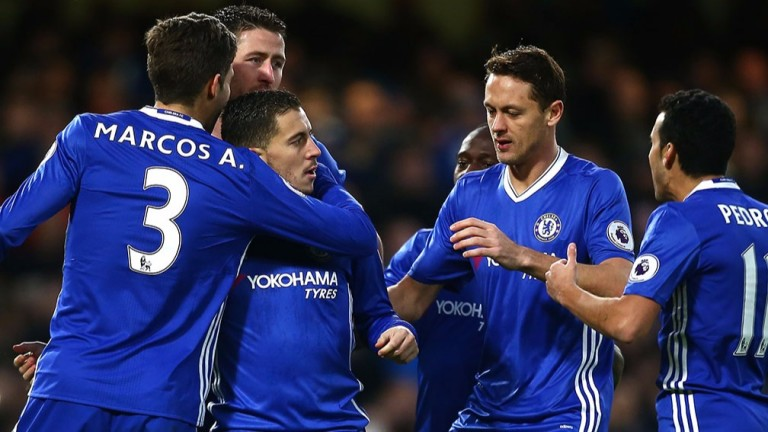 Chelsea are seeking a 13th successive victory against Stoke