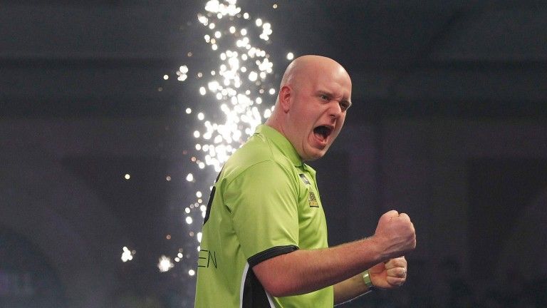 More fireworks are expected from Michael van Gerwen in the final at Alexandra Palace