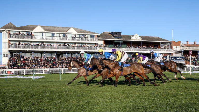 Racegoers flocked to Ayr for the bank holiday Monday meeting