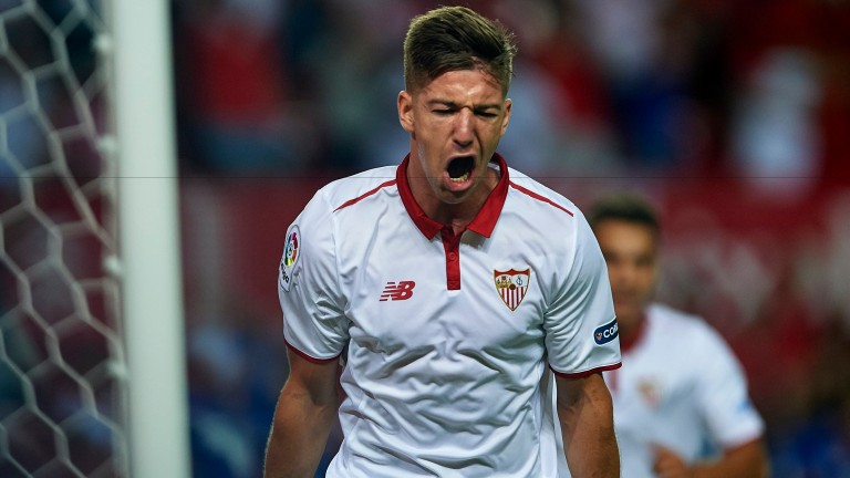 Luciano Vietto has scored five goals in his last two games for Seville