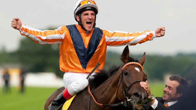 Andrasch Starke: returns to Ascot to captain the European team in the Shergar Cup