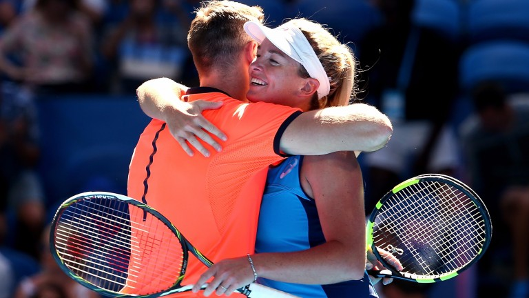 Jack Sock and Coco Vandeweghe have done little wrong in this year's Hopman Cup