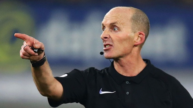 Referee Mike Dean has been the target of unjustified criticism