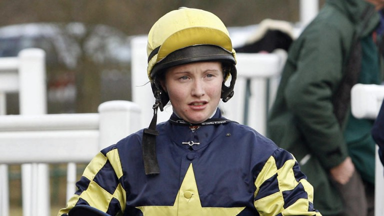 Kelly Harrison: returned to the saddle on Wednesday with a winner
