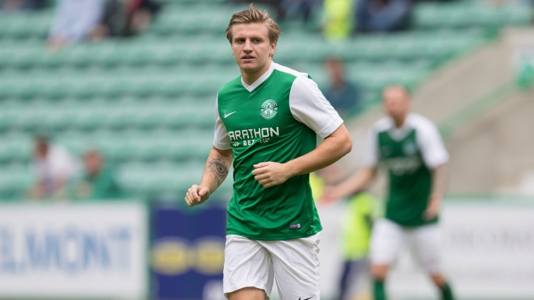 Jason Cummings is back in form up front for Hibs