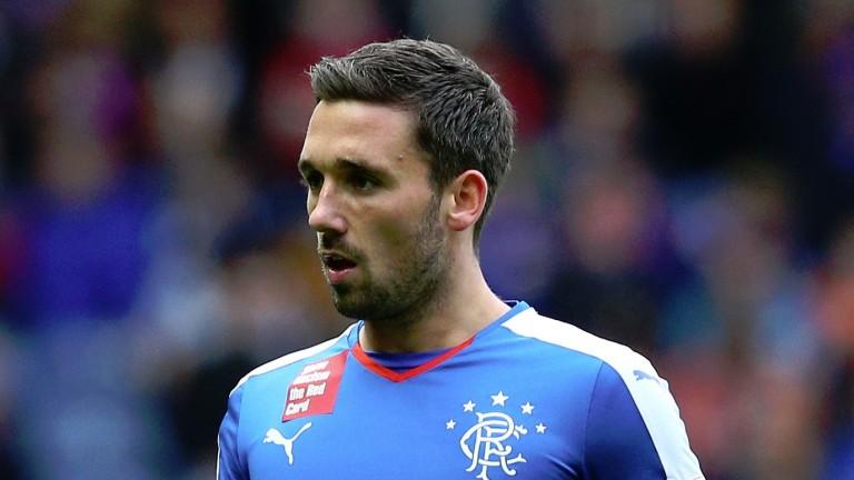 Dunfermline's ex-Rangers striker Nicky Clark