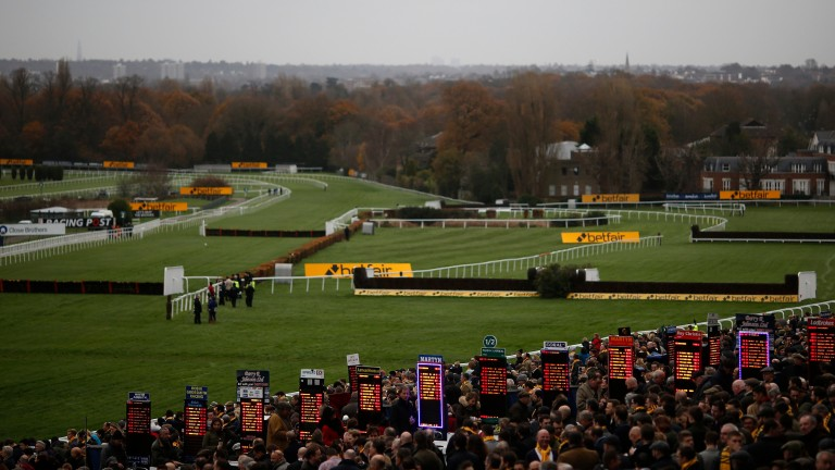 Sandown Park,, where all three selections today will be bidding for success