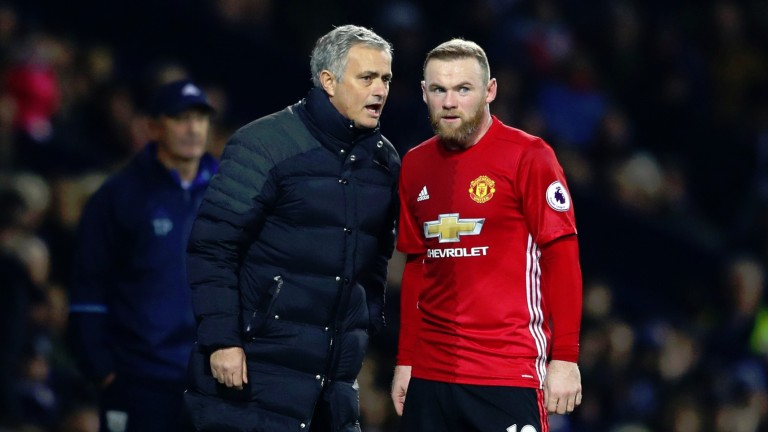 Wayne Rooney is set to start against Reading with boss Jose Mourinho likely to ring the changes