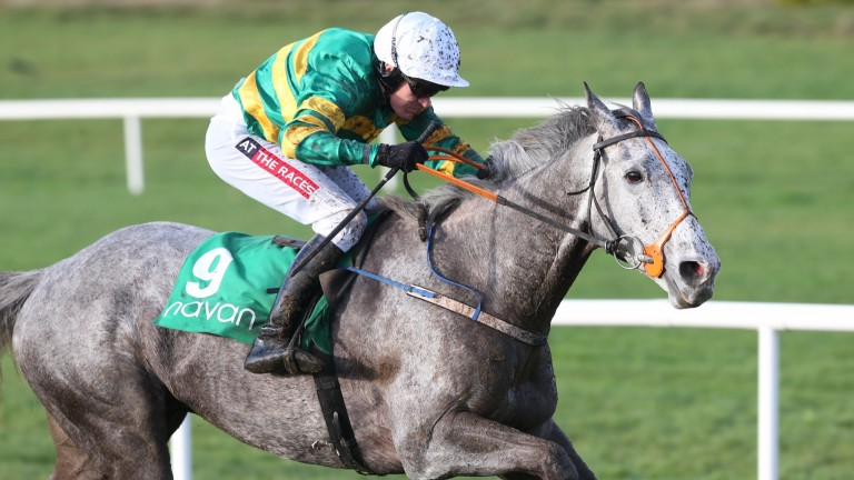 Scoir Mear and Barry Geraghty finishing second at Navan last month