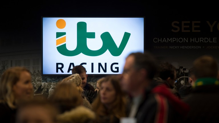 ITV: the terrestrial television giant is committed to showing 94 days of horseracing a year