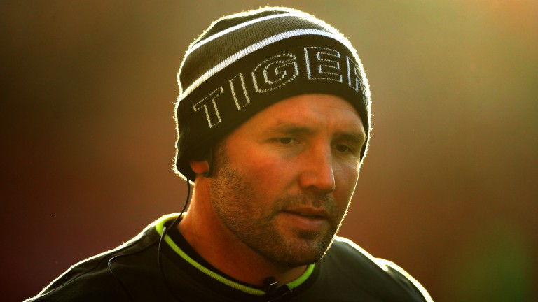 Leicester director of rugby Aaron Mauger takes charge for the first time