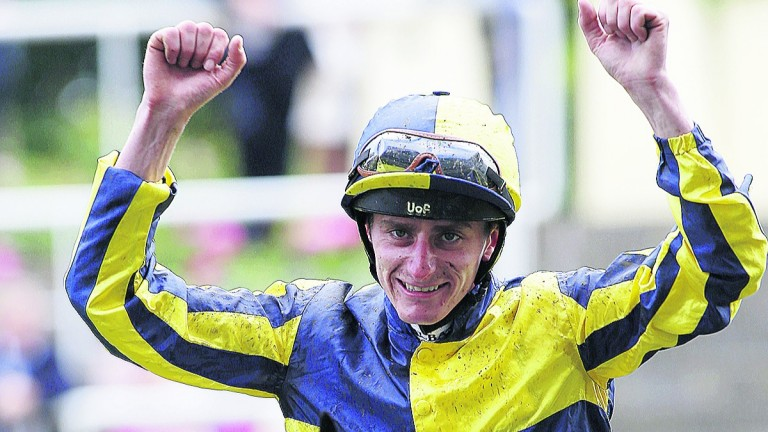 Adam Kirby: birthday celebrations for the Flat star