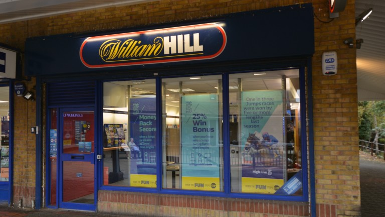 William Hill: retail revenue only rose one per cent