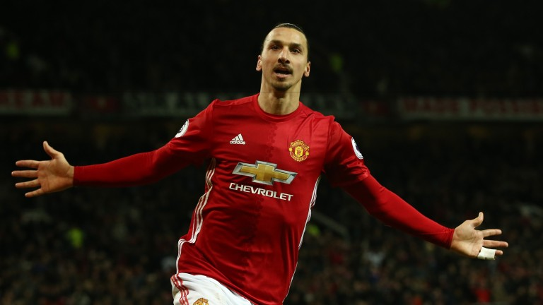 Zlatan Ibrahimovic is a huge goal threat for Manchester United