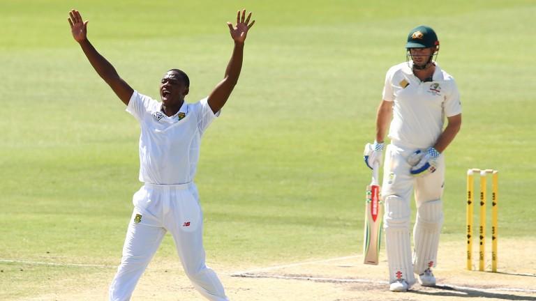 Kagiso Rabada claimed ten wickets in the second Test against Sri Lanka