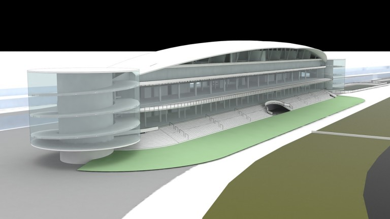 An artist's impression of the proposed new grandstand at Chelmsford City