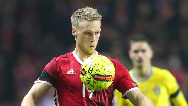 Feyenoord hotshot Nicolai Jorgensen