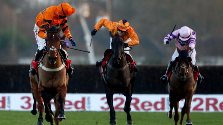 Thistlecrack: odds-on to deliver a Gold Cup for Colin Tizzard