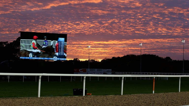 Racing this evening comes from Newcastle and Dundalk