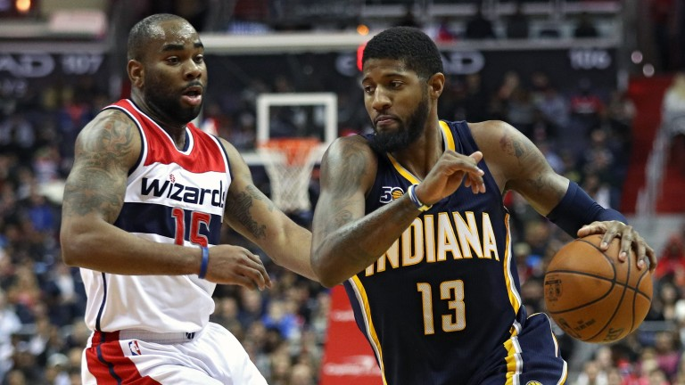 Indiana's Paul George should be a big influence for the Pacers