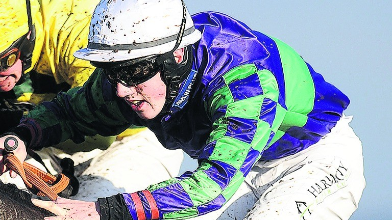 Ciaran Gethings: conditional jockey declined to comment on Hereford unseating