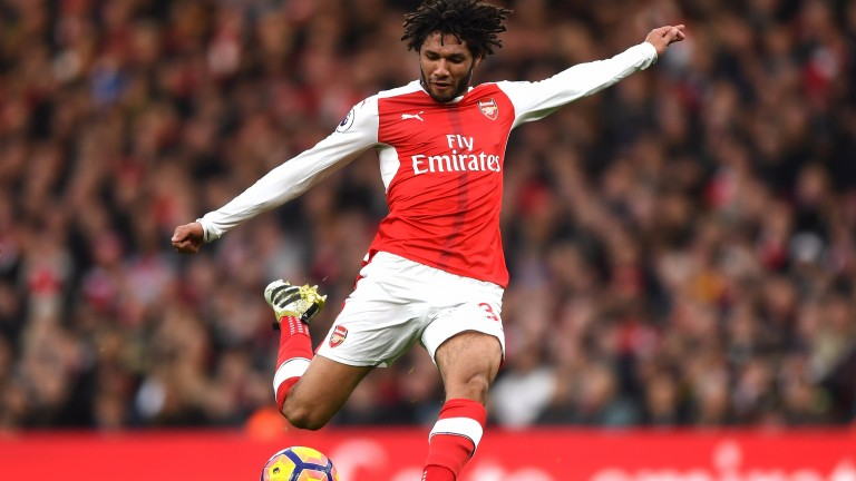 Arsenal's Mohamed Elneny is in the Egypt engine room