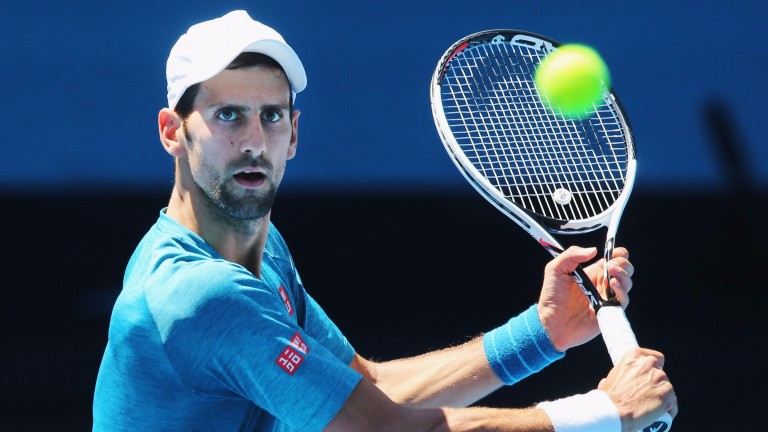 Novak Djokovic is in pole position for a seventh Melbourne crown