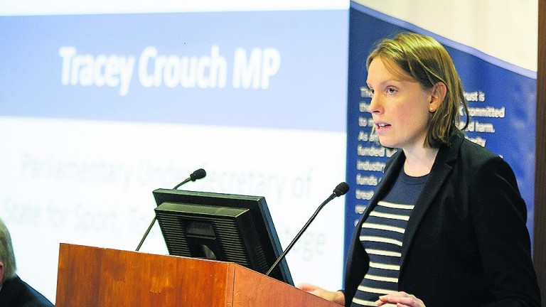 Gambling minister Tracey Crouch has said action will be taken on FOBT stakes