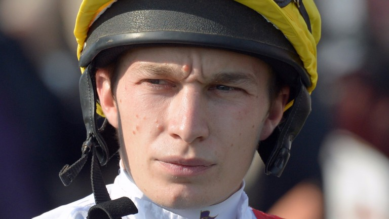 Luke Morris: by far the busiest jockey in 2016 with 3,013 rides