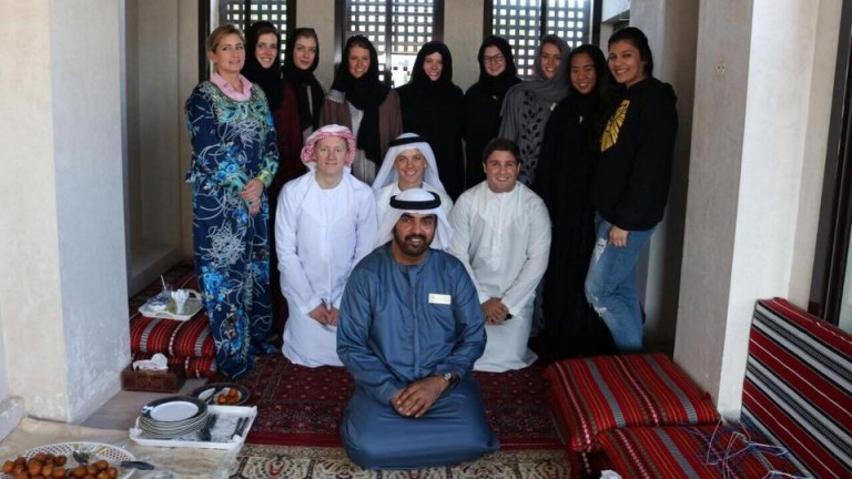 The Godolphin Flying Start trainees get to grips with Dubai culture