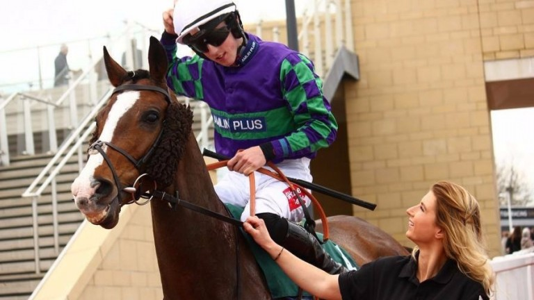 Kate Tracey raised the subject of internet trolling after abuse received by her jockey boyfriend Ciaran Gethings