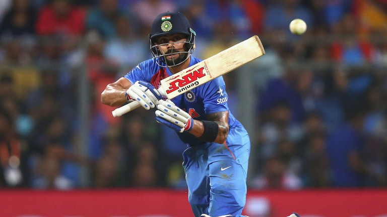 Virat Kohli was in imperious form in Pune